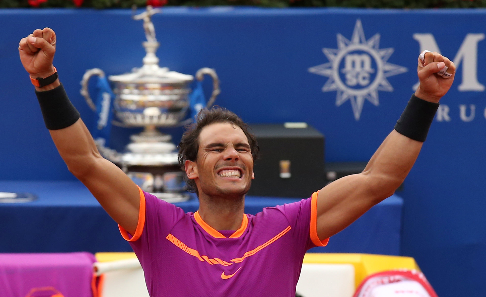 Rafa Nadal eases to 10th Barcelona Open title