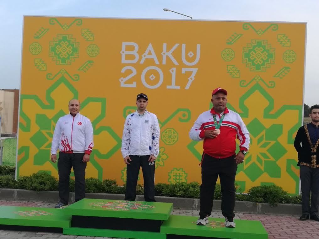 """الهاشمي يهدي السلطنة أول ميدالية في دورة """"التضامن الاسلامي"""""""