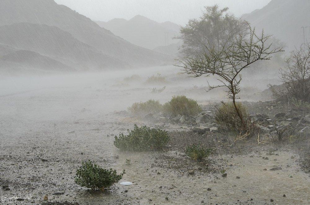 إبراء تسجل أعلى كمية هطول أمطار