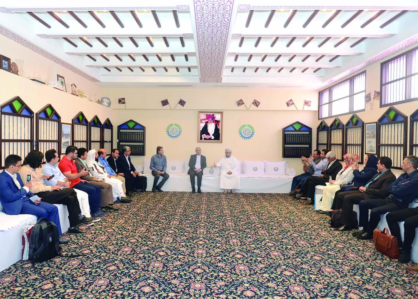 وفد تجاري إيراني يزور «الغرفة»