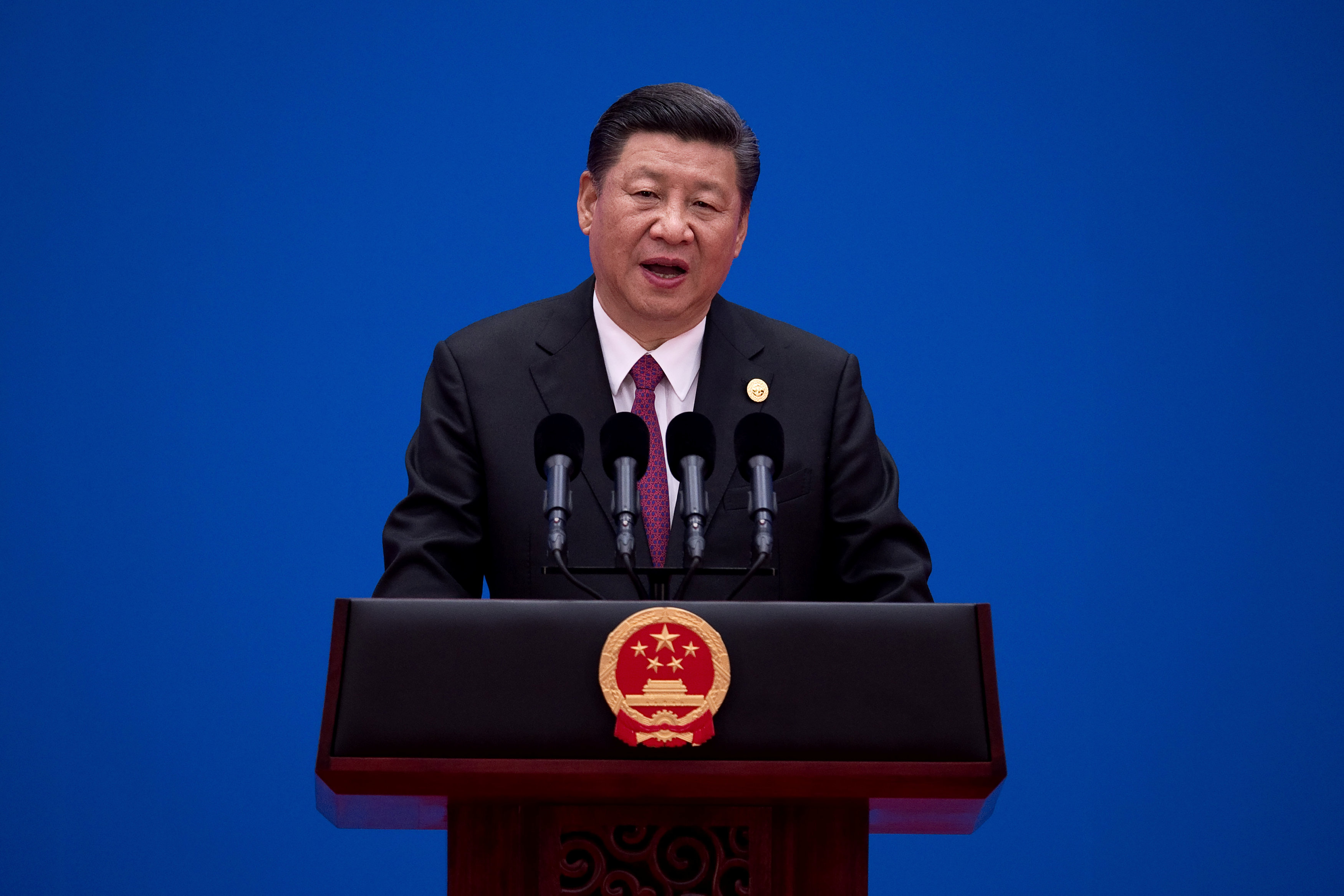 China ends Belt, Road summit with a call to end protectionism