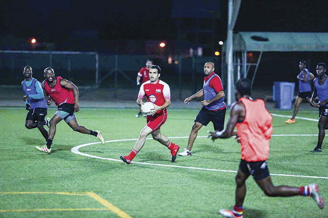 On The ball: Gaelic football takes root in Oman