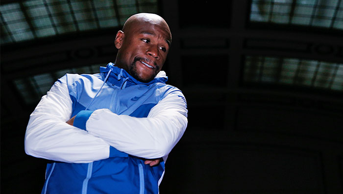 McGregor signs deal for Mayweather fight