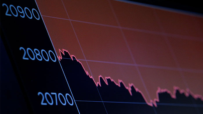Hong Kong stocks follow Wall Street lower as investors fret about U.S.