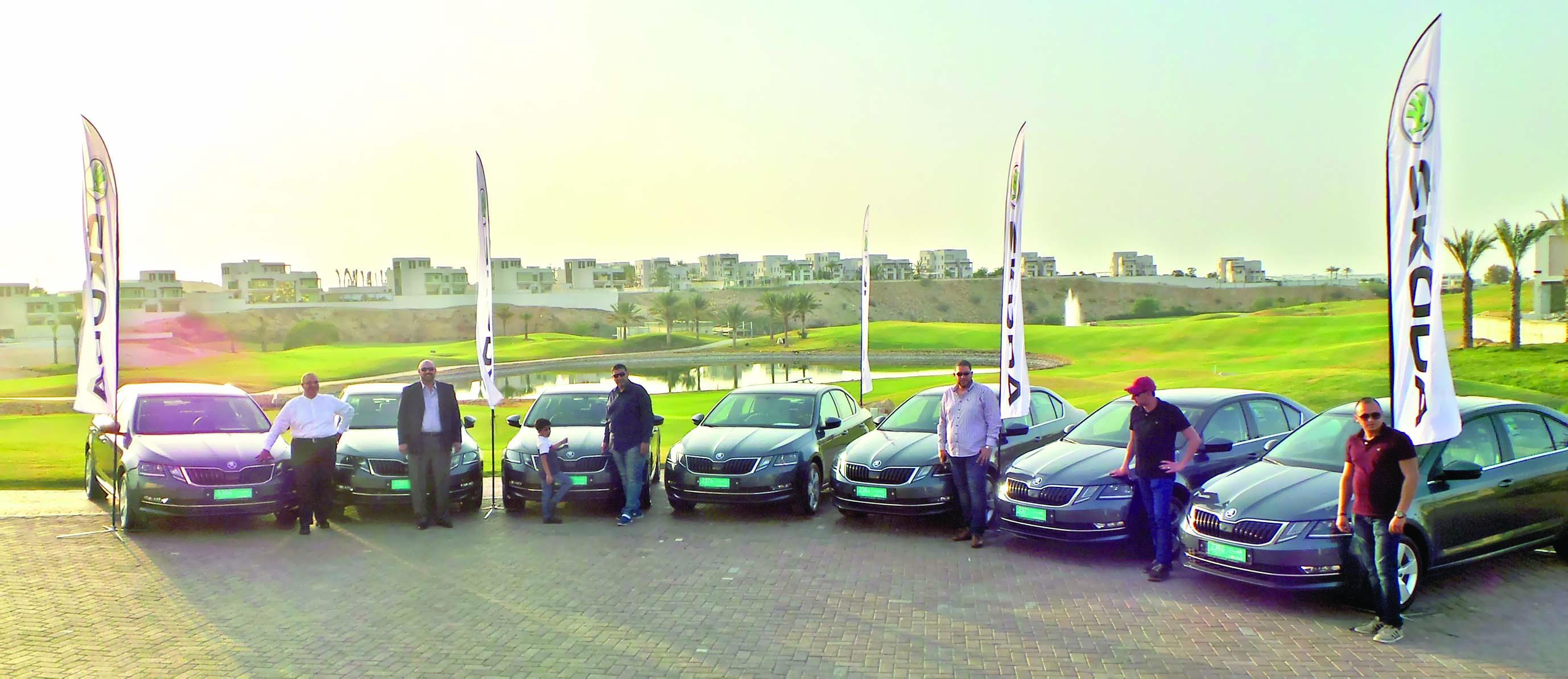 سيارات الوطية تعيد تقديم سكودا في عمان في احتفالية تسليم خاصة