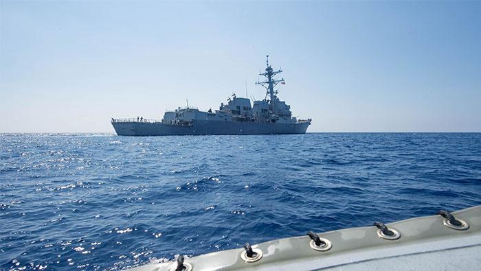 China says U.S patrol severely disrupts South China Sea negotiations