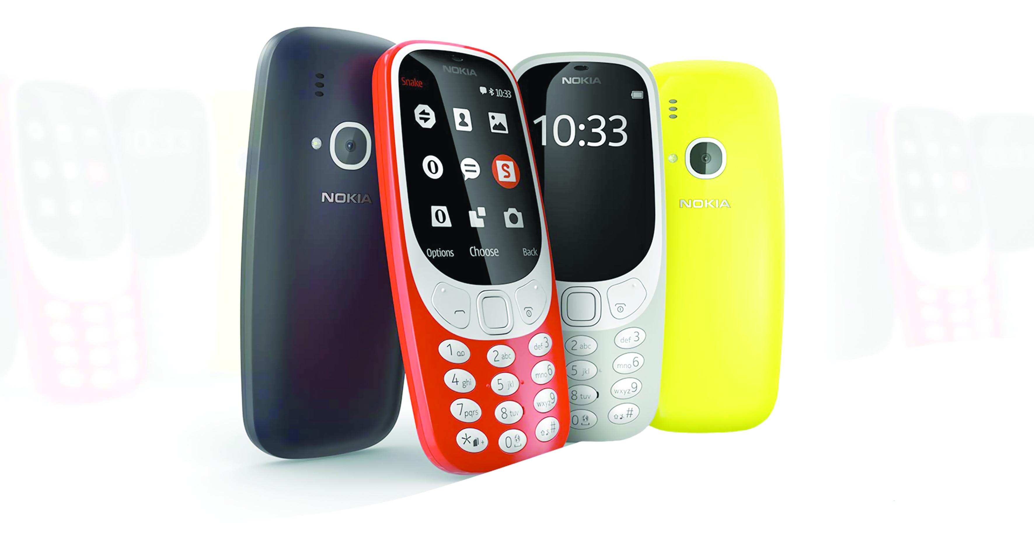 طرح هاتف نوكيا الأسطوري 3310.. قريباً