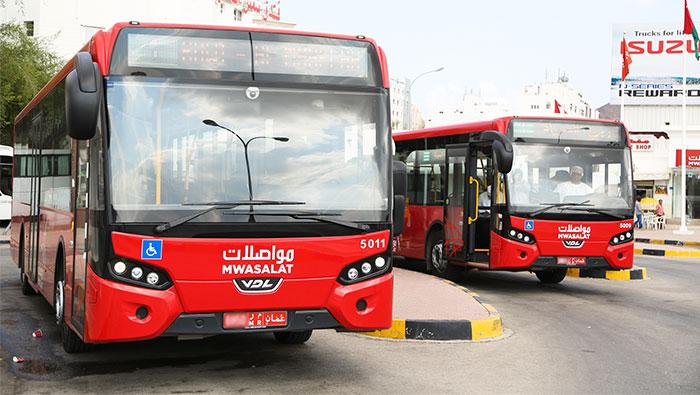 Mwasalat buses to operate until midnight during Ramadan
