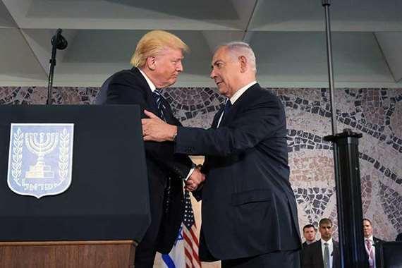 """فضائح استقبال """"ترامب"""".. كلمة السر في منع مصافحة الوزراء بالأيدى في اسرائيل"""