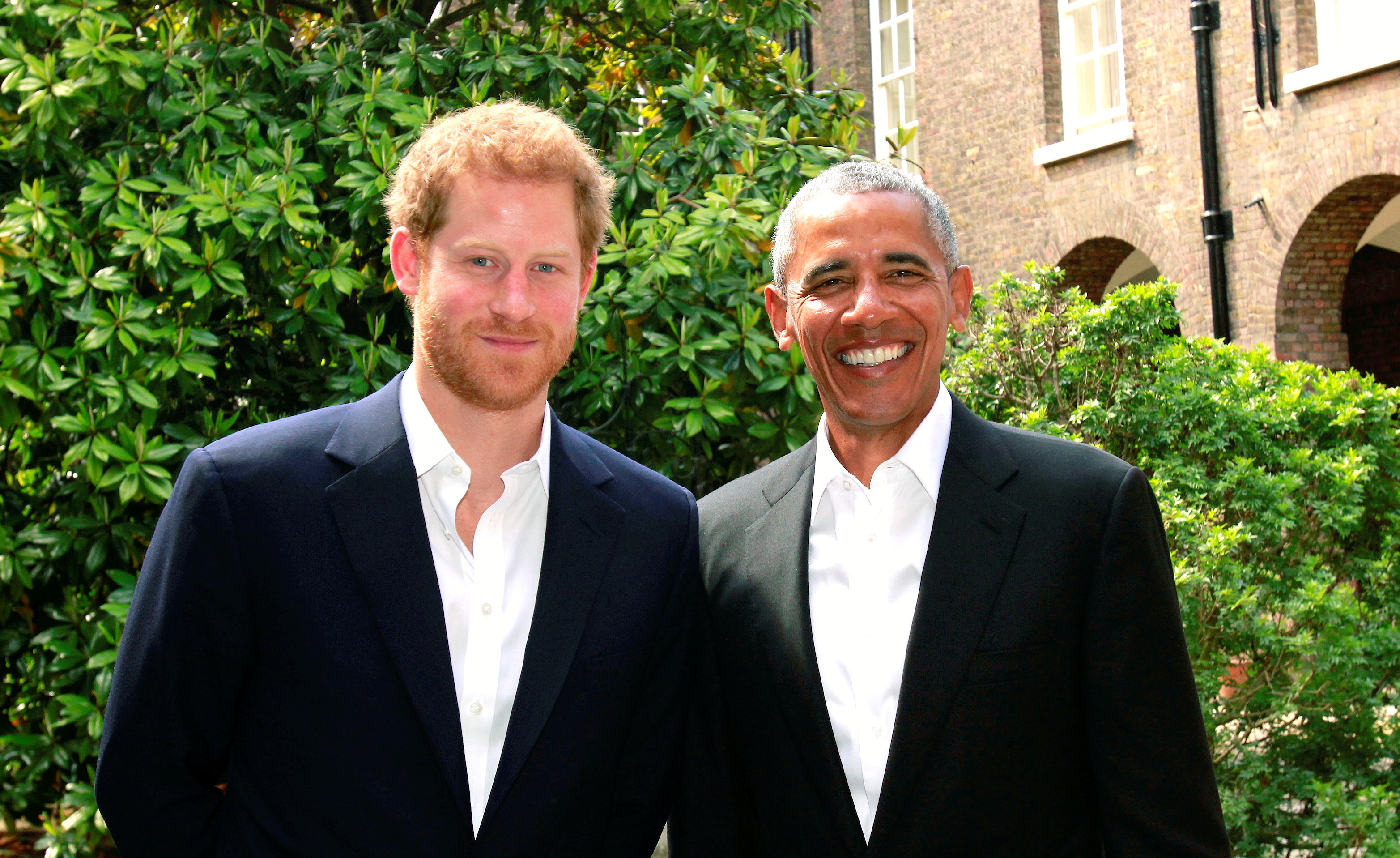 Obama offers condolences to Manchester victims in meeting with Harry