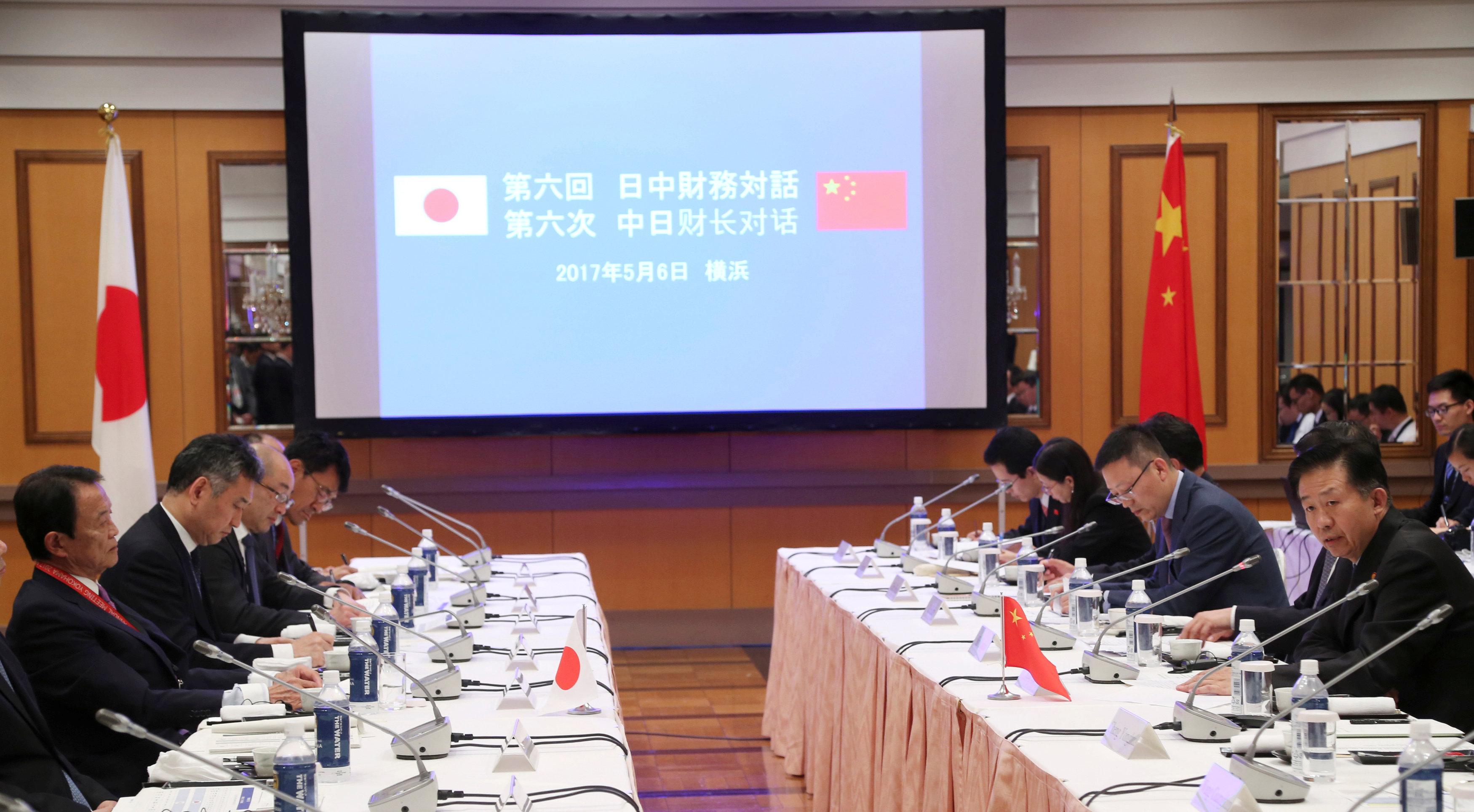 Japan, China to boost financial ties