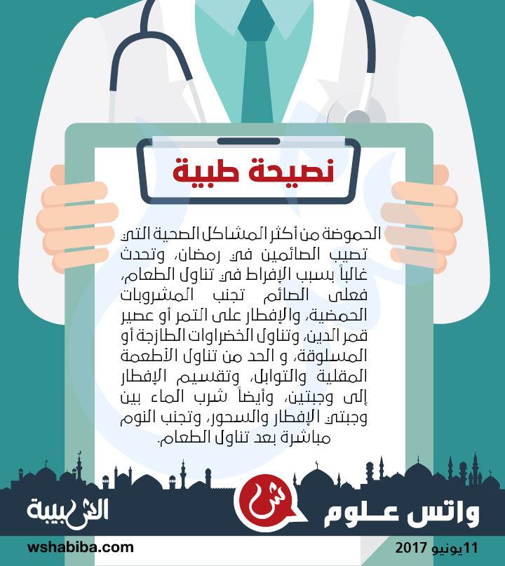 نصيحة طبية: كيف تتجنب الحموضة في رمضان؟