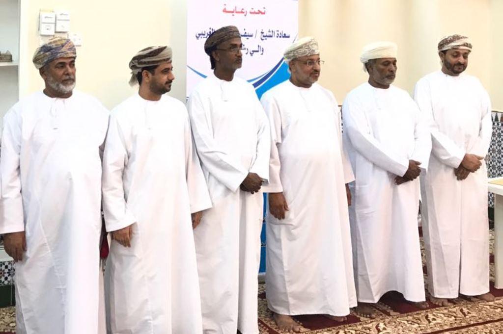تكريم الفائزين في مسابقة القرآن الكريم بولاية رخيوت