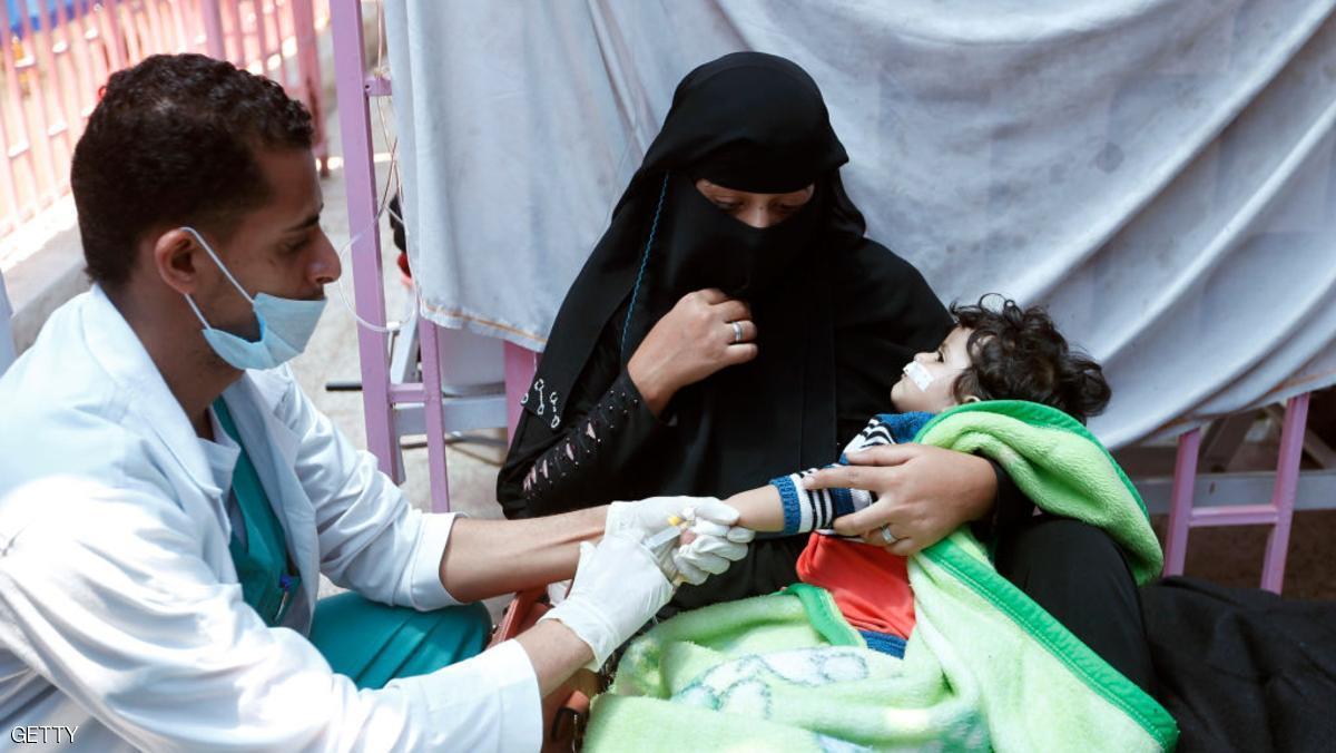 تعرّف على المأساة بالأرقام.. 3 آلاف إصابة بالكوليرا يومياً في اليمن