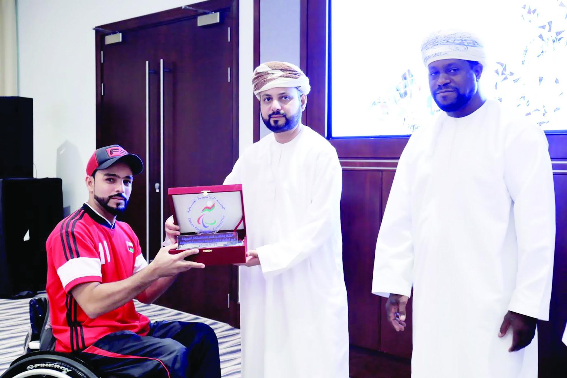 اللجنة البارالمبية العمانية تحتفل بتكريم أبطال منتخبنا الوطني لذوي الإعاقة