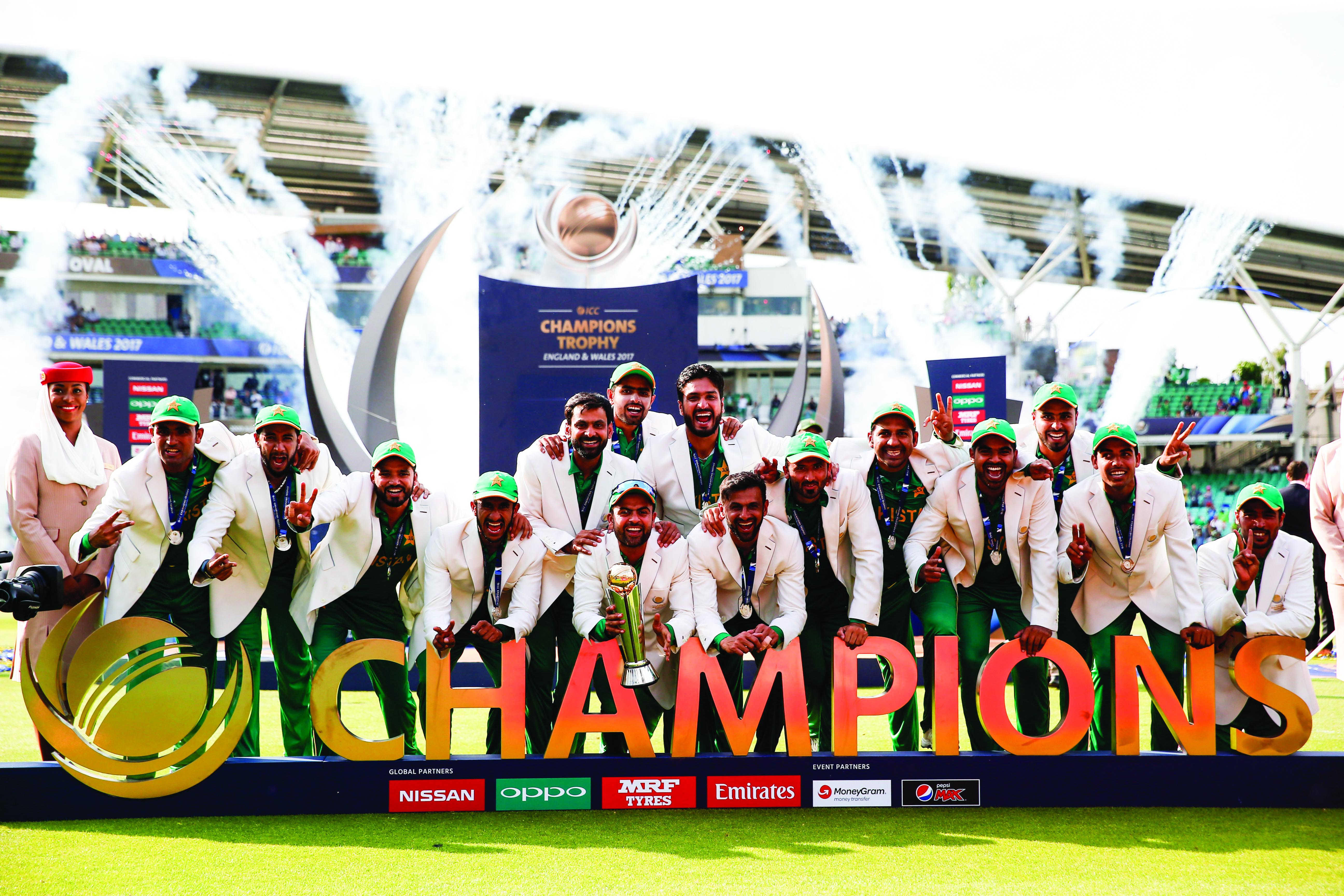 Cricket: Fakhar, Amir script India's downfall as Pakistan lift Champions Trophy