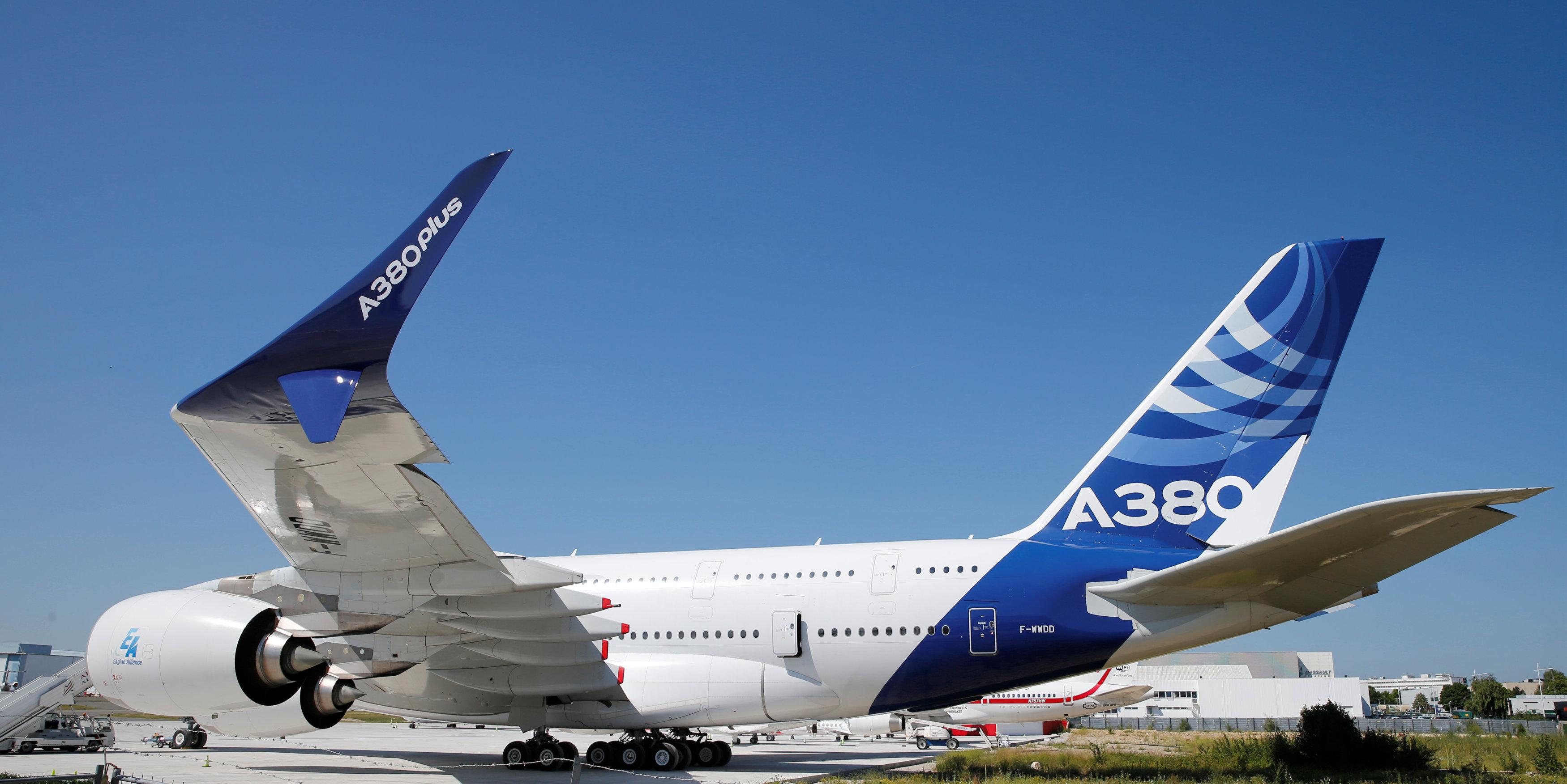 Airbus upgrades world's biggest passenger jet