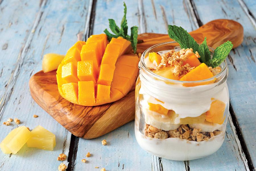 Ramadan food: Tropical overnight oats
