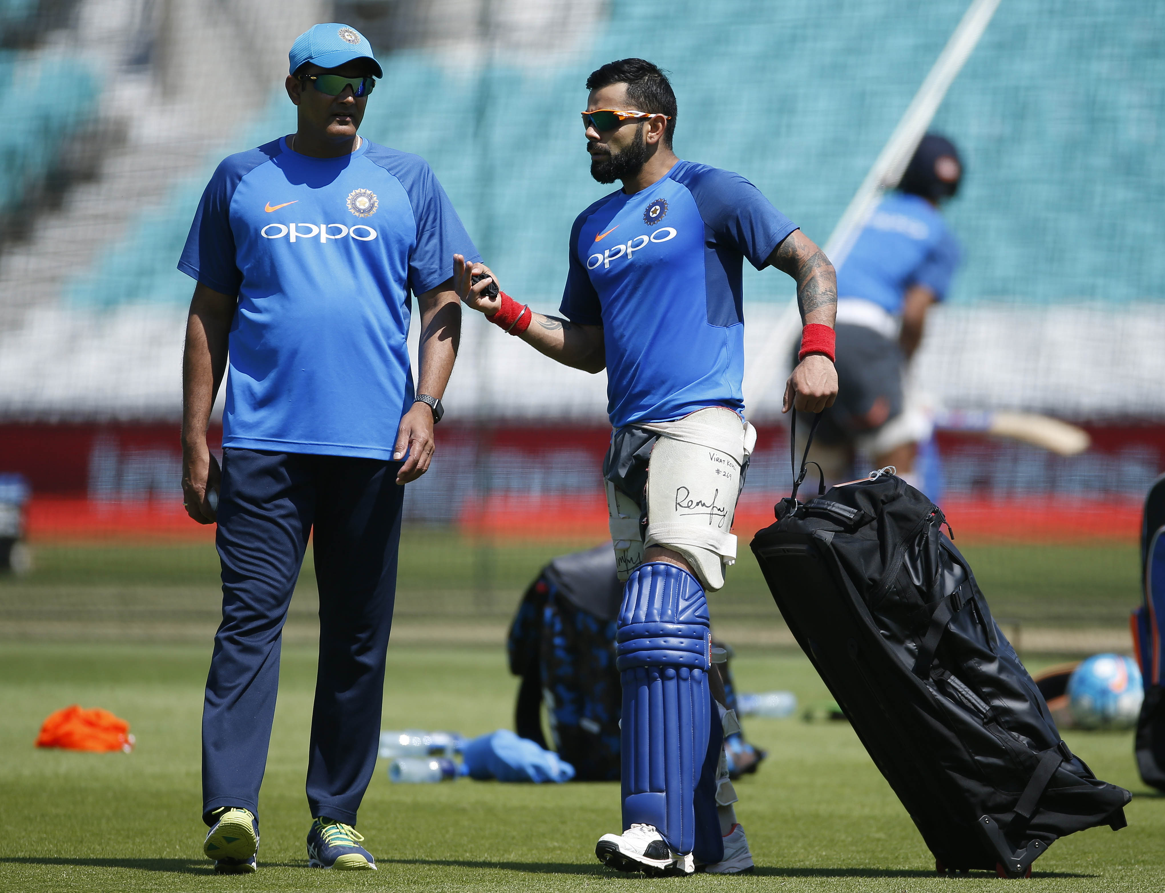 Cricket: Anil Kumble quits as India coach