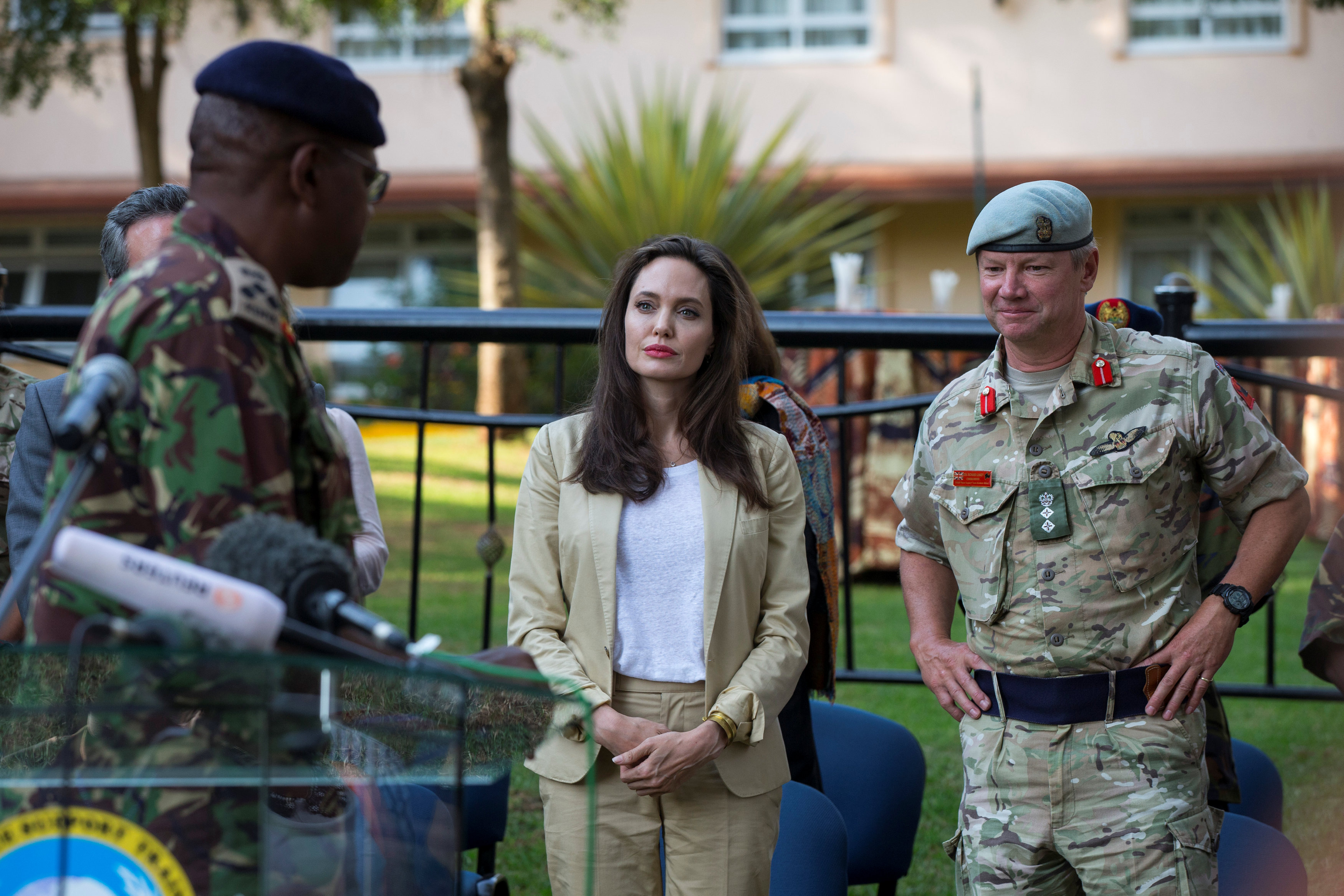 In picture: UNHCR Special Envoy Angelina Jolie in Kenya