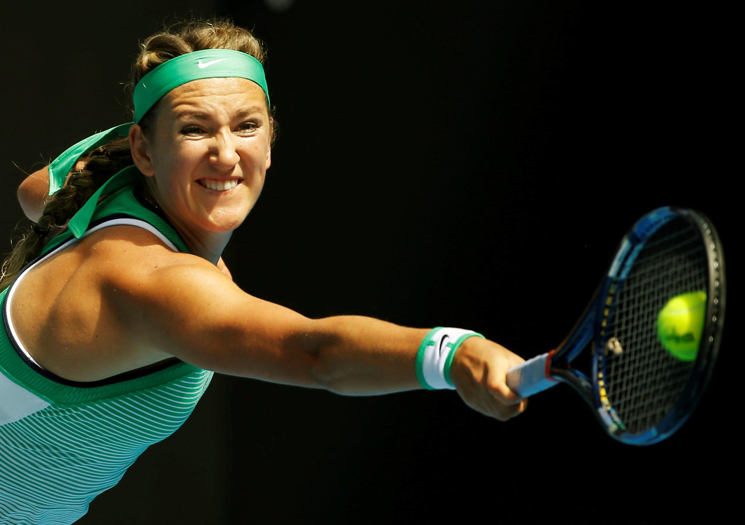 Tennis: Azarenka wins first match on return from motherhood