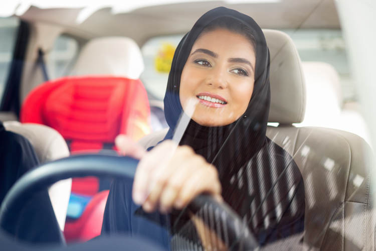 Good deed of the day: Drive like a Muslim