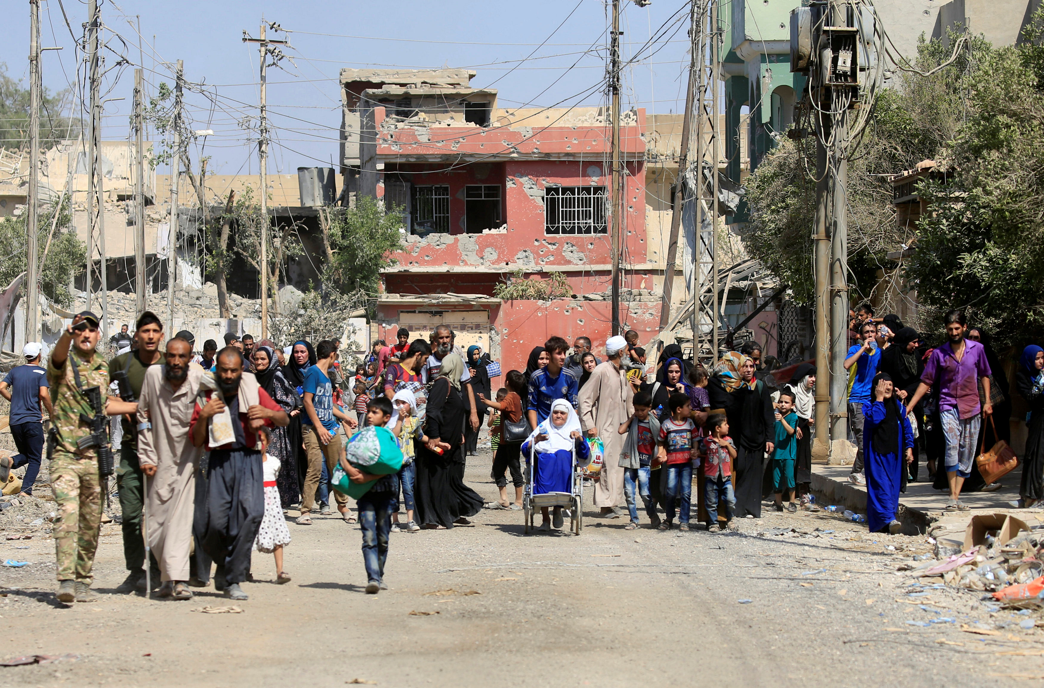 Civilians killed while fleeing IS in Mosul