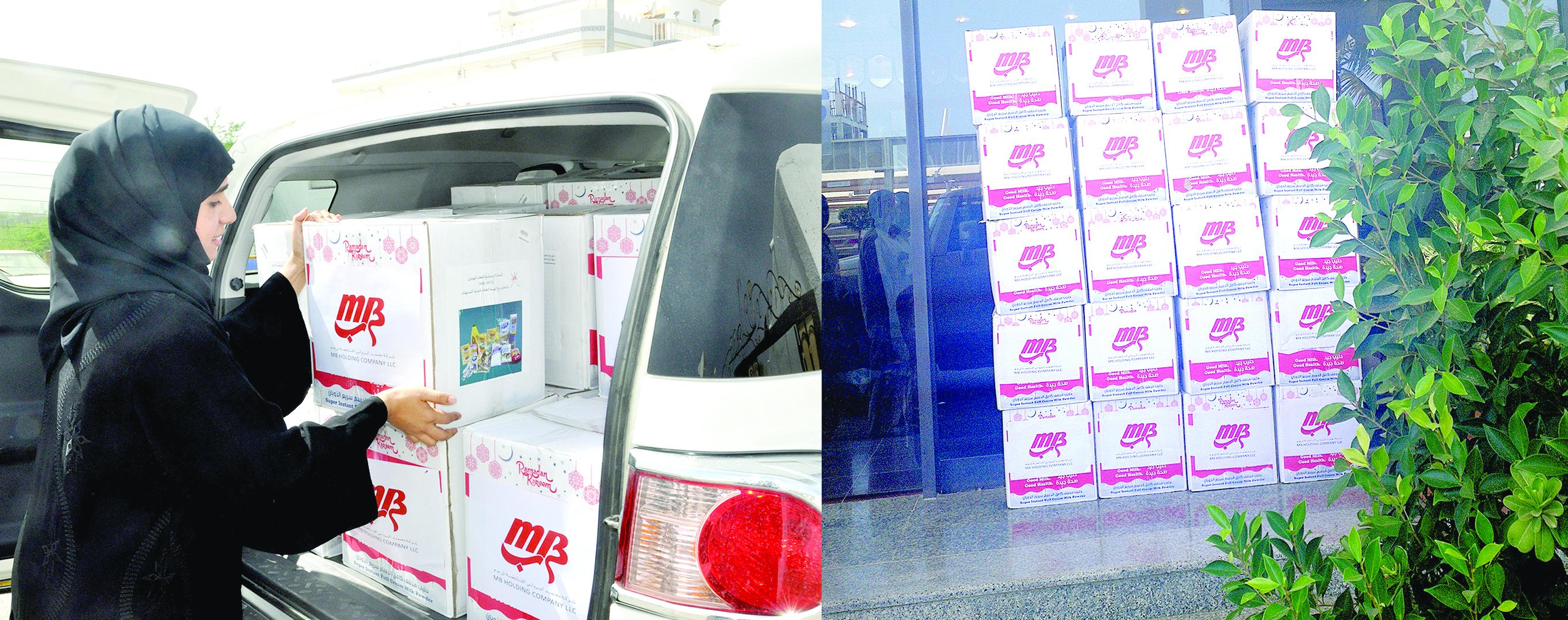 موظفو مجموعة محمد البرواني يطلقون حملة «سحابة خير»