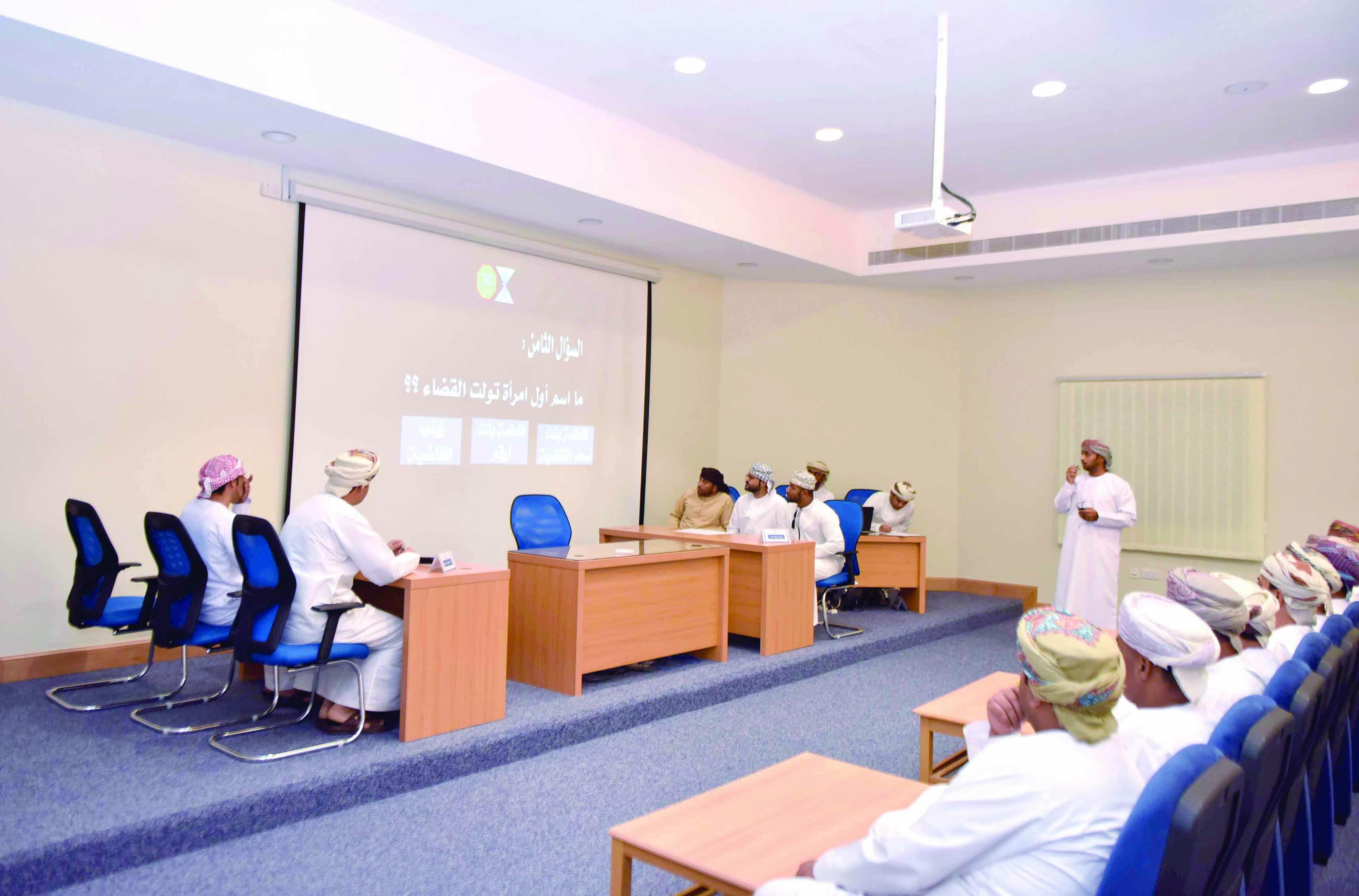 انطلاق المسابقة الثقافية الرمضانية بقيادة شرطة محافظة مسندم