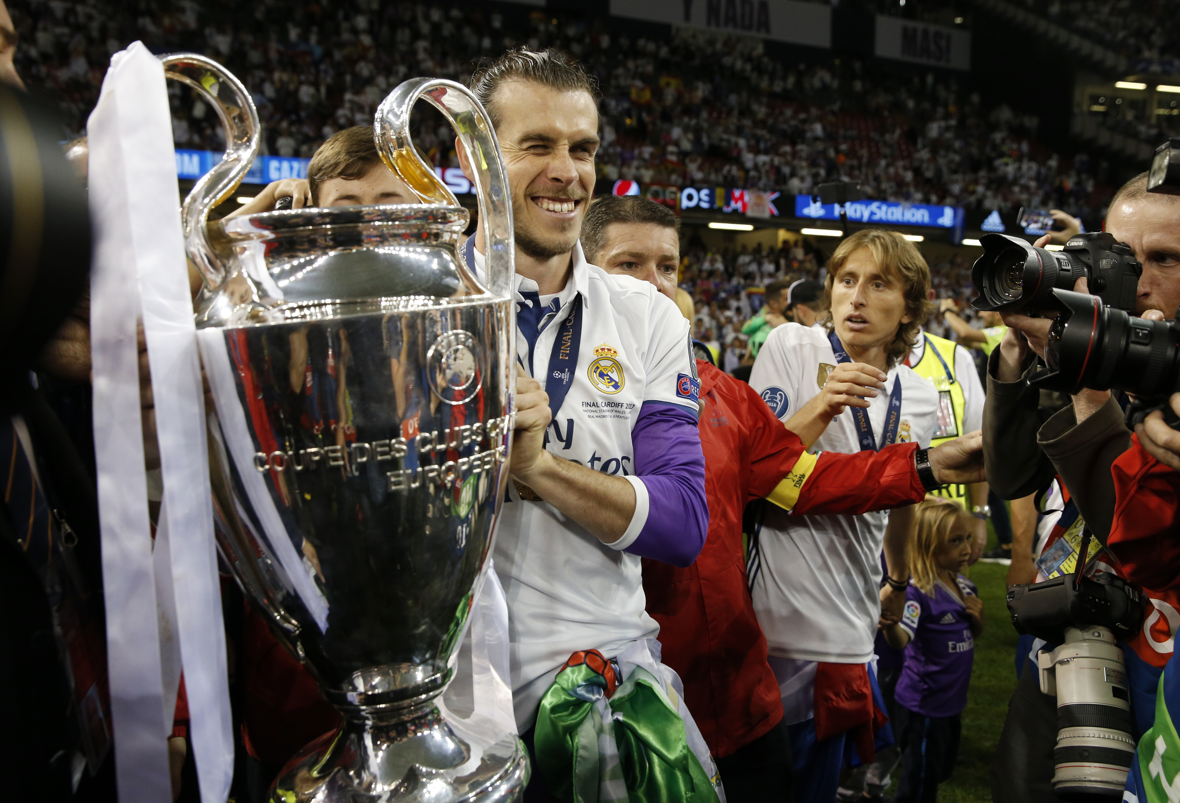 Football: 'Happy' Bale aims for more trophies at Real Madrid