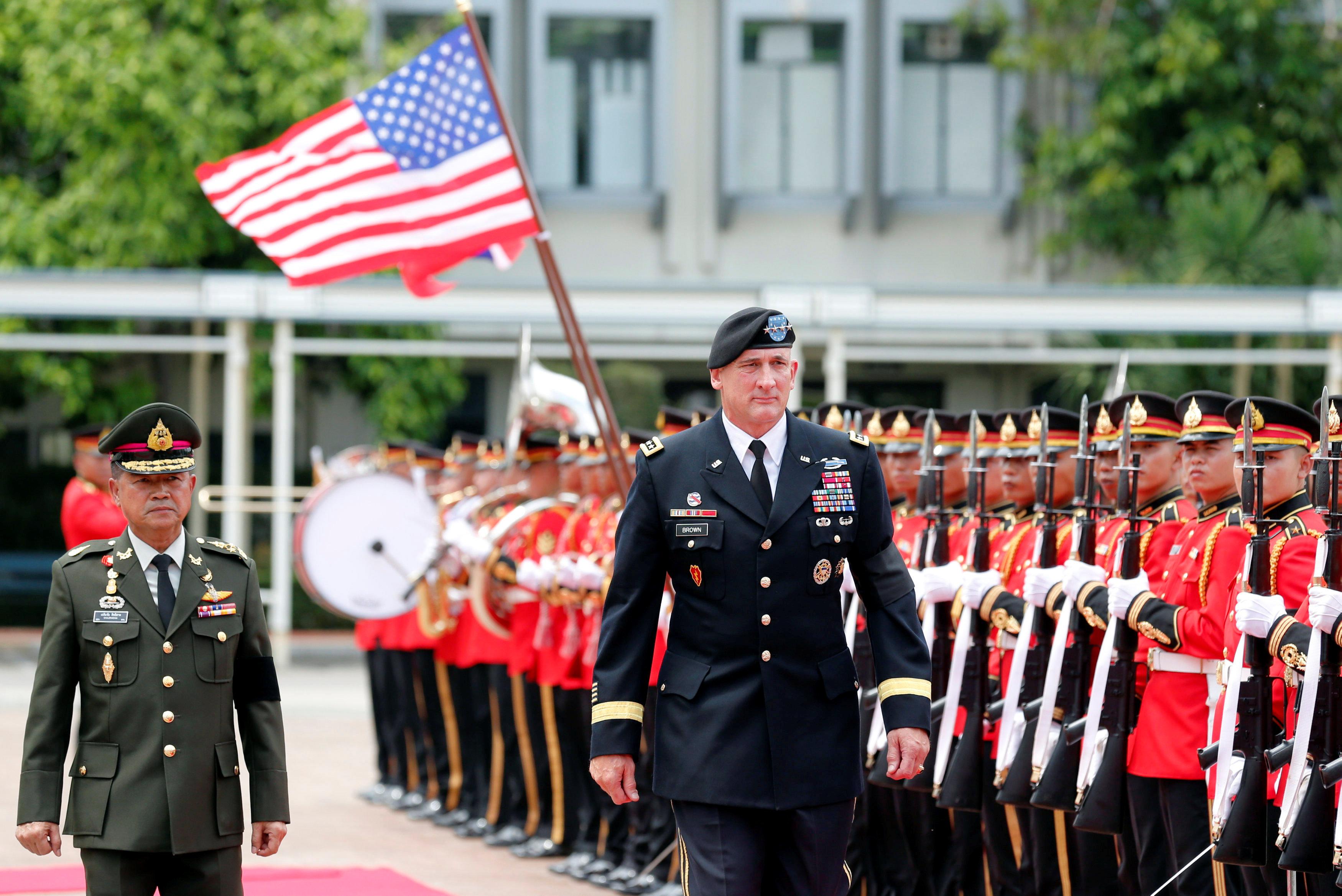 U.S. army Pacific chief in Bangkok amid regional security concerns