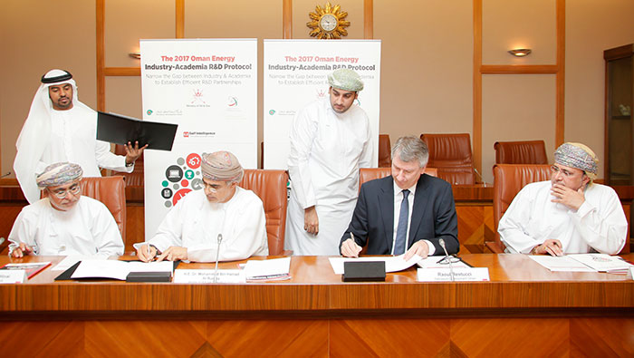 PDO signs Oman energy R&D protocol with Ministry, Research Council
