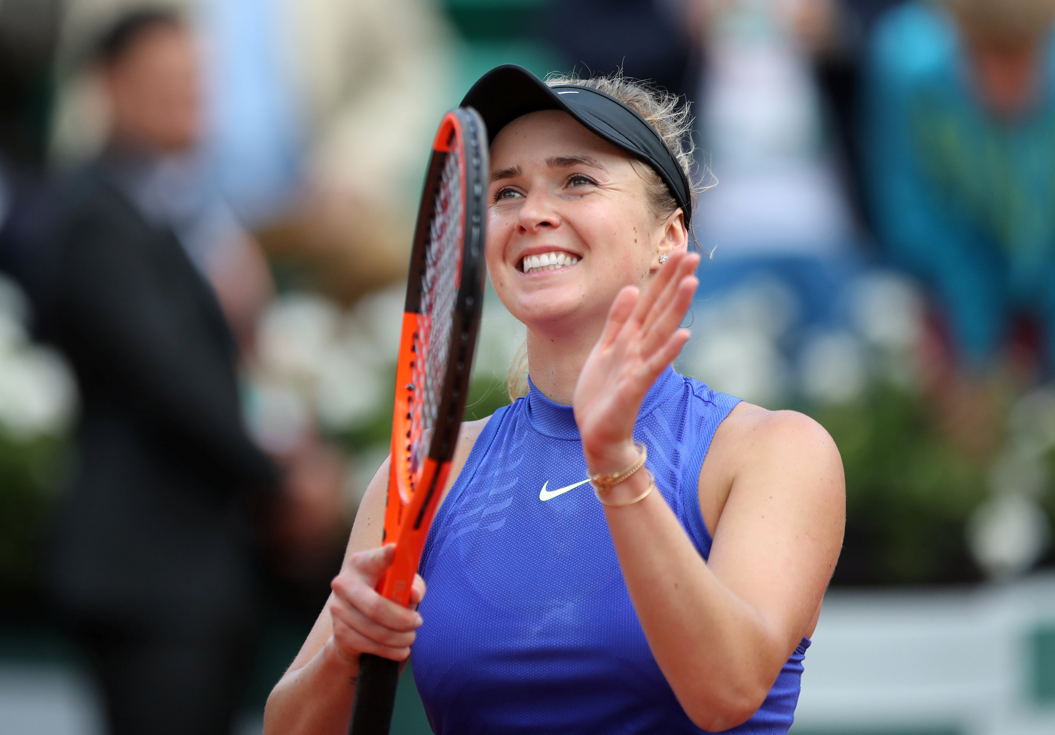 Tennis: Never-say-die Svitolina ends Martic run in French Open