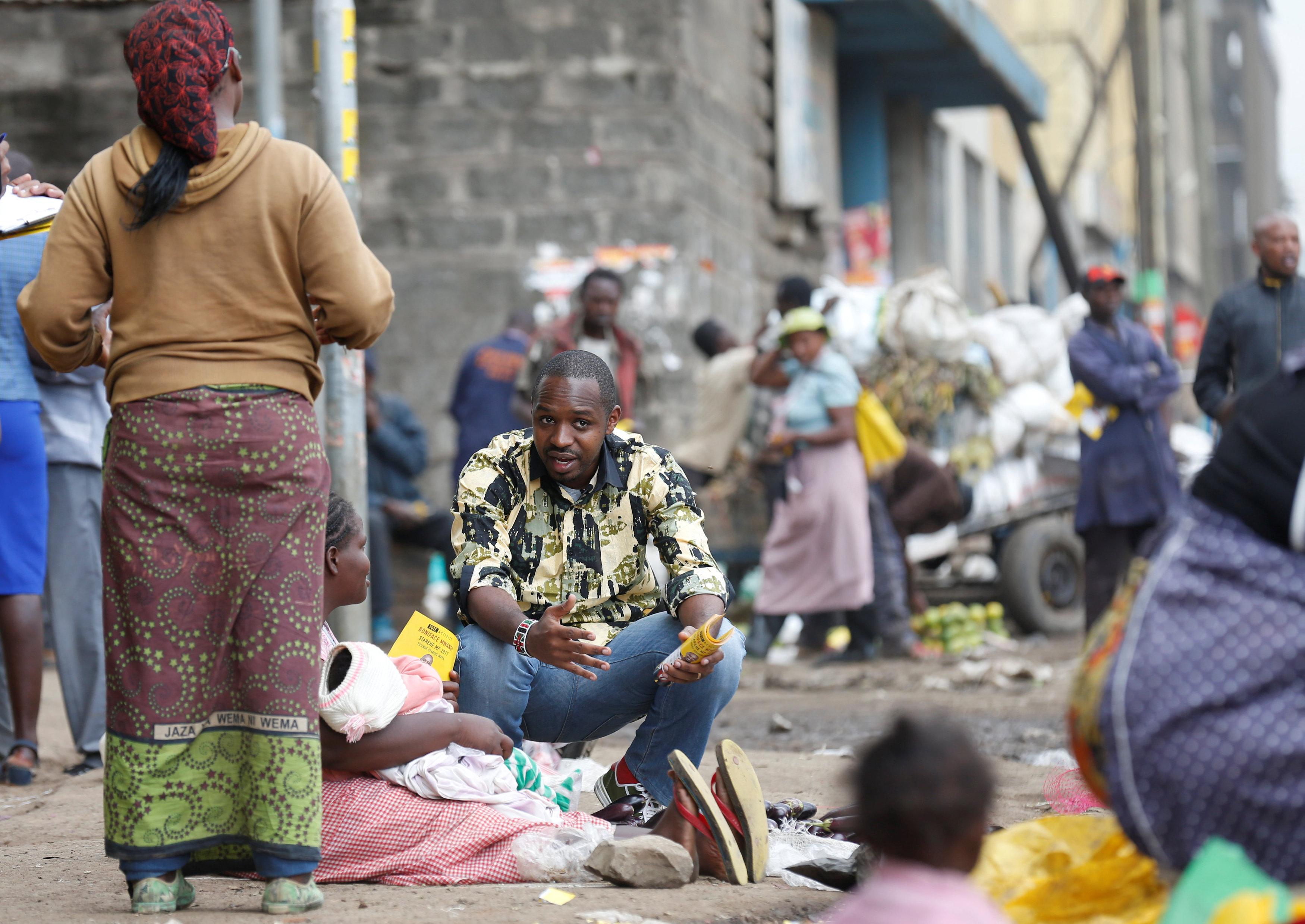 Anti-graft activist stirs up Kenyans with parliament campaign