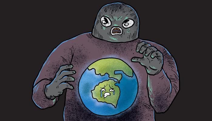 Terrorised world