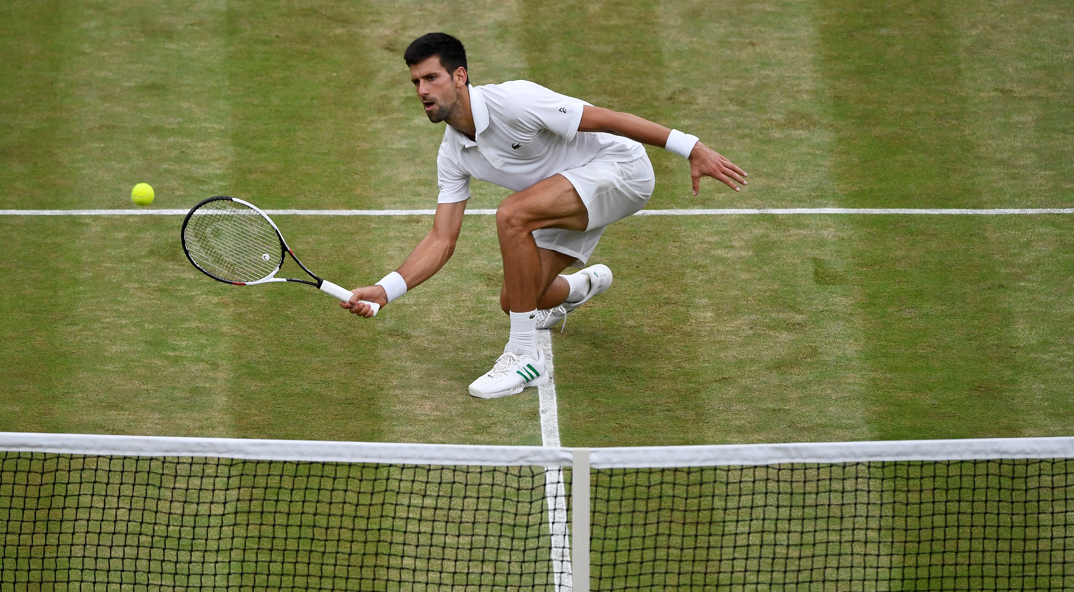 Tennis: Djokovic complains of 'hole' on Wimbledon Centre Court