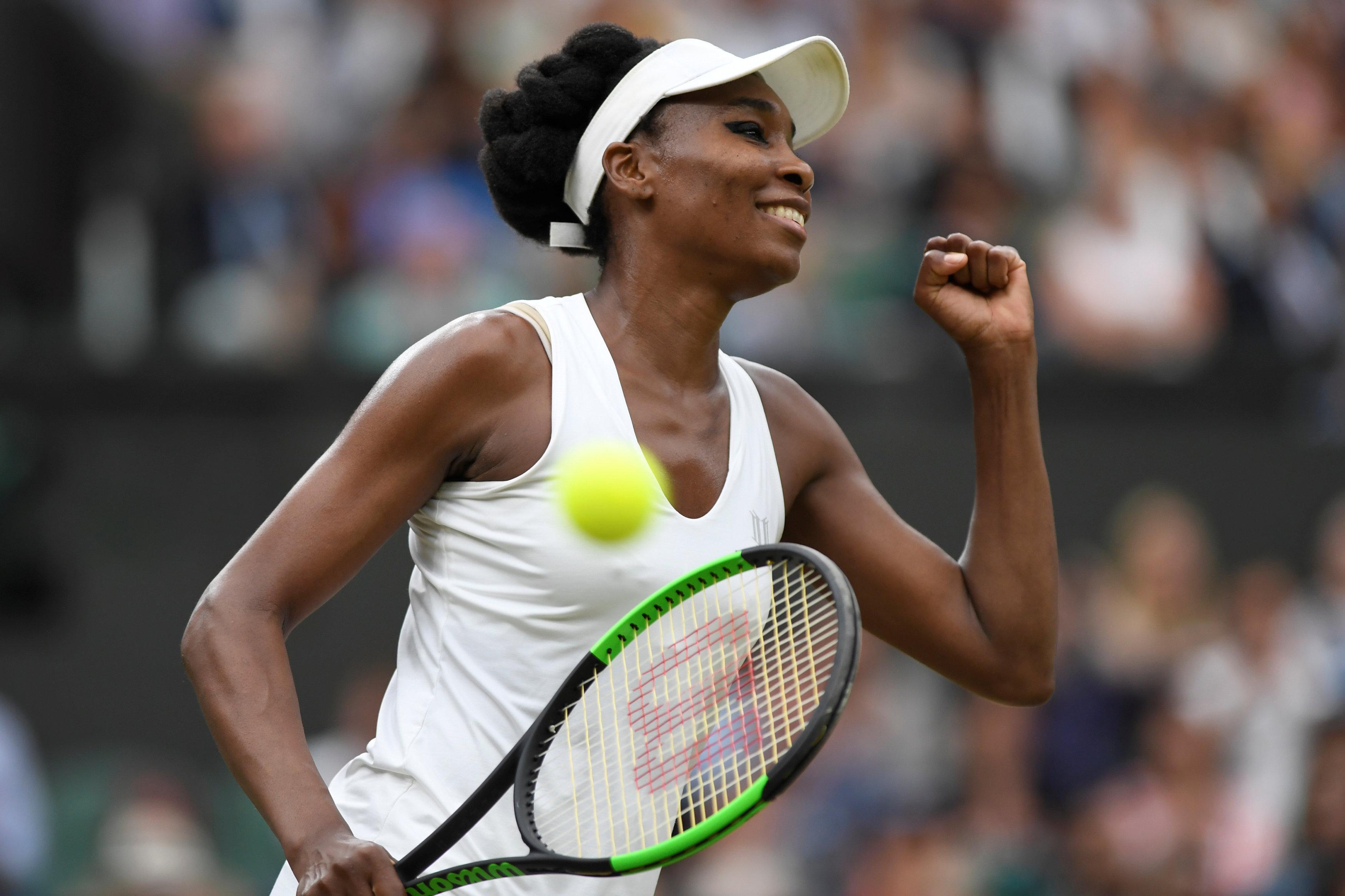 Tennis: Venus rises again to stop Ostapenko in her tracks