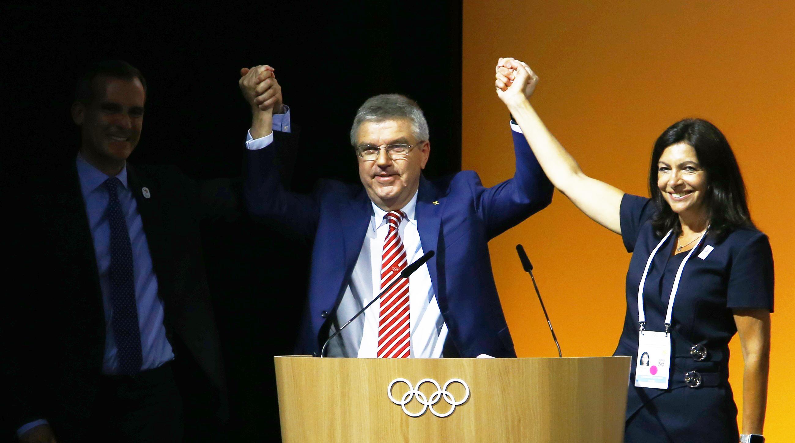 Olympics: IOC approves awarding both 2024, 2028 Games in September
