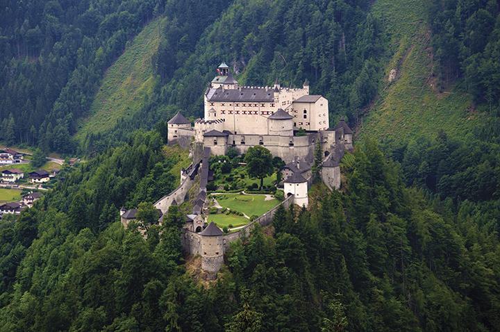 Beautiful castles of Europe