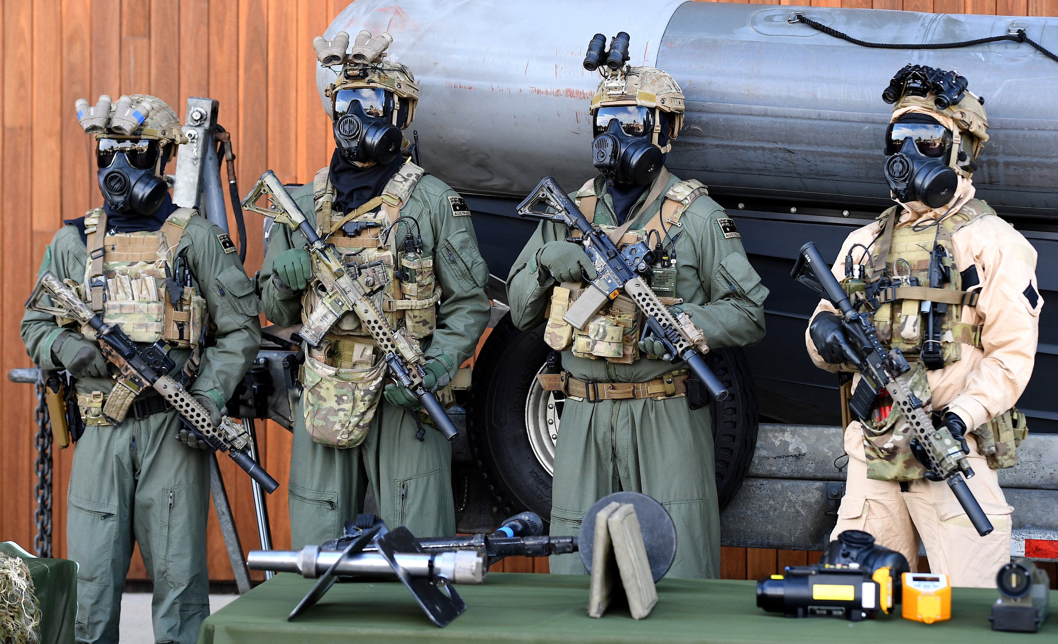Australia opens way for faster military response to 'terrorist incidents'