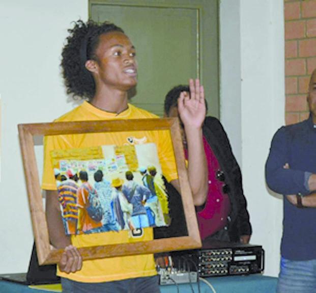 معرض للرسم على الزجاج في مدغشقر