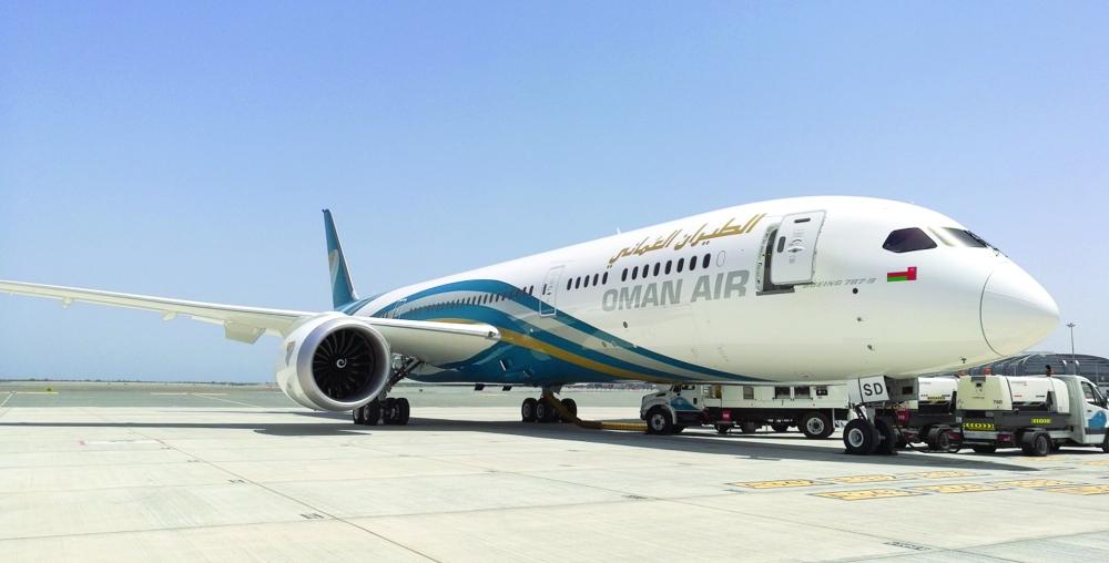 الطيران العُماني يصدر بياناً حول الخلل الفني في رحلة مسقط ـ بنجلور