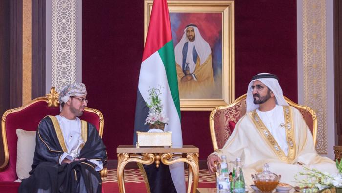 Oman's envoy to UAE presents credentials