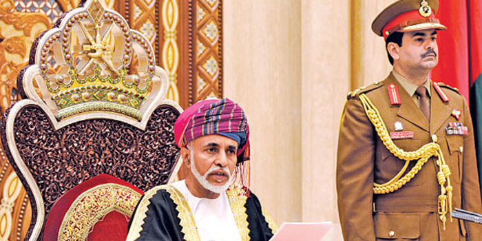 His Majesty Sultan Qaboos receives greetings on Blessed Renaissance Day