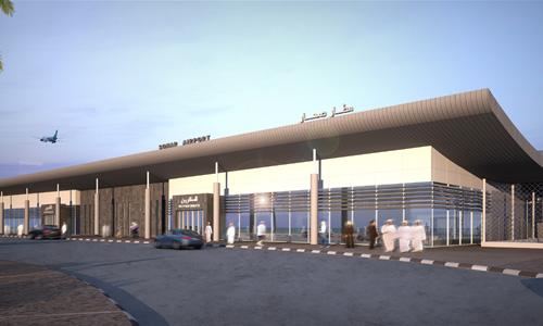 مطار صحار يستعد لاستقبال ثاني رحلاته الدولية