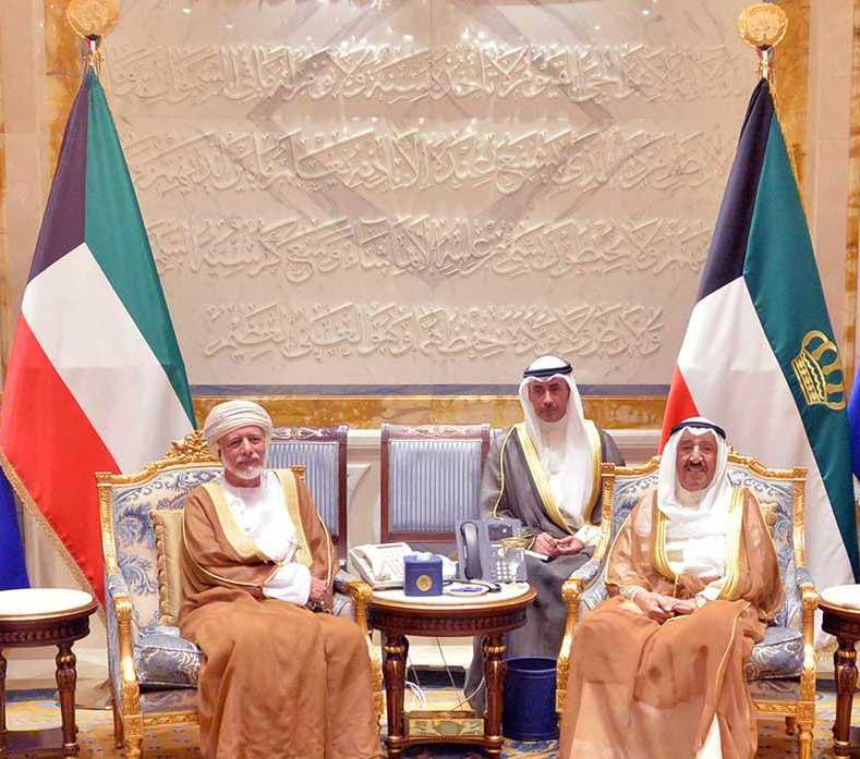 Kuwait Emir meets Alawi