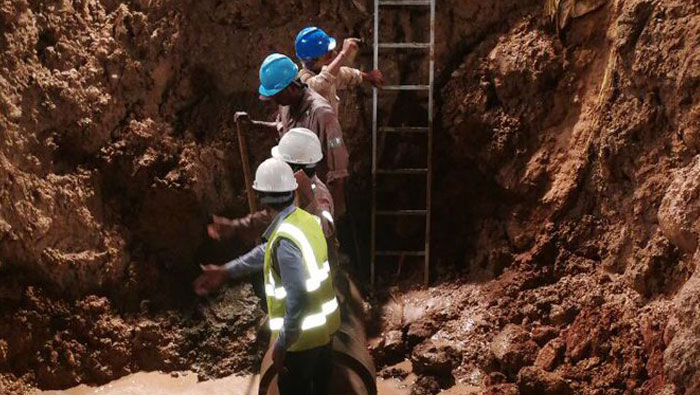 Parts of Muscat hit by water shortage after pipe break