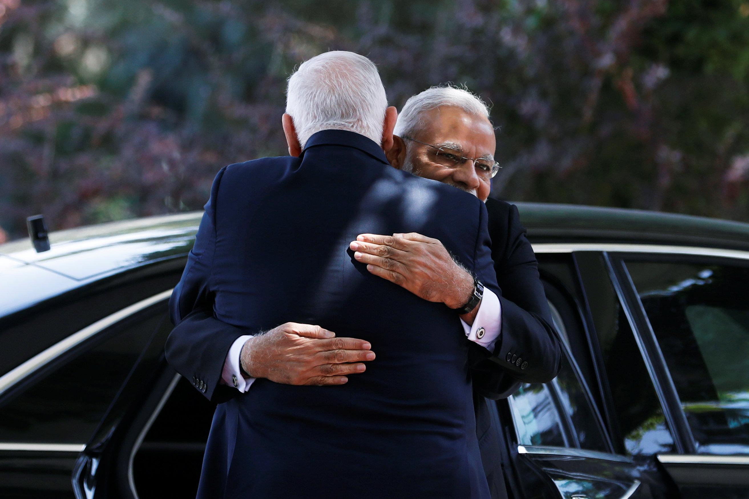 Modi calls on Israeli president, discusses ways to boost ties