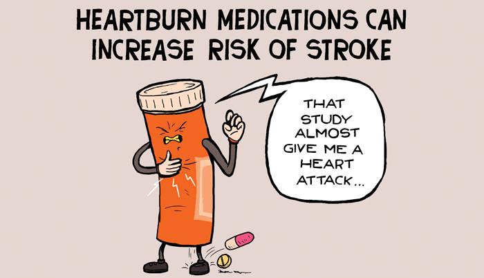Warning on heartburn medicines