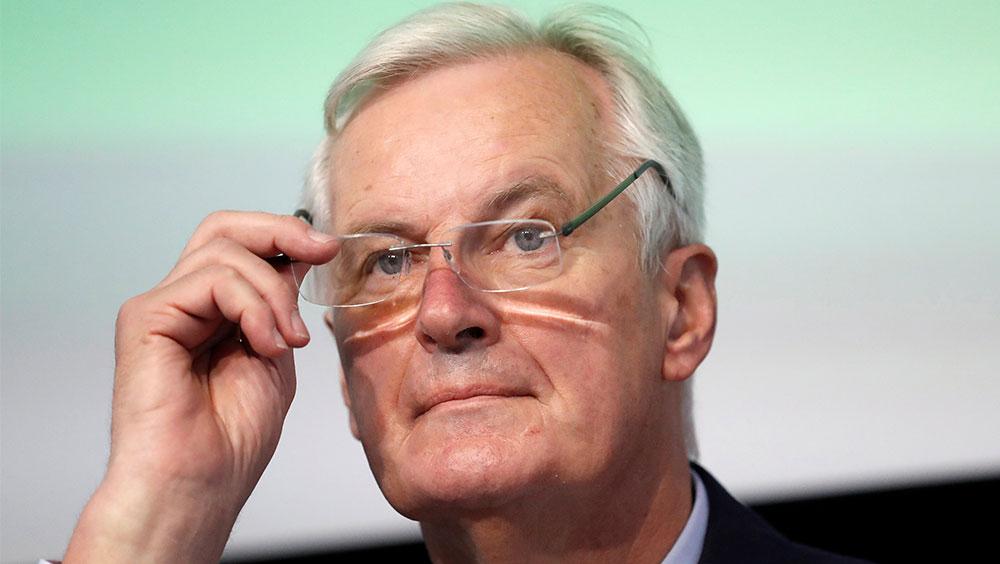 "EU's Barnier warns Britain no such thing as ""frictionless"" trade"